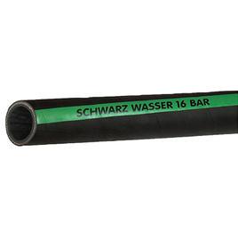 Gummischlauch 40 mm16 bar, 16 bar Farbe: schwarz mit grünem Streifen