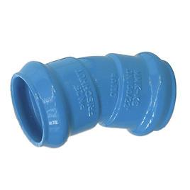 Guss Muffen-Bogen MMK-KS 140 / 22.5° blau Epoxy